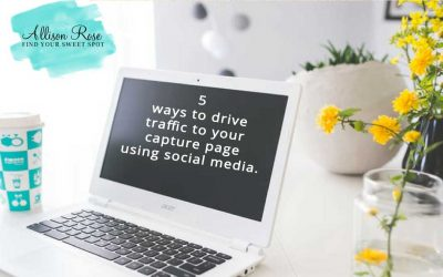Here are 5 ways to drive traffic to your capture page using social media.