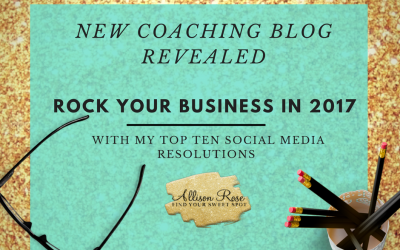 My Top 10 Social Media Resolutions to Keep your Brand on Track