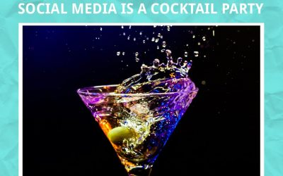 Social Media Is a Cocktail Party